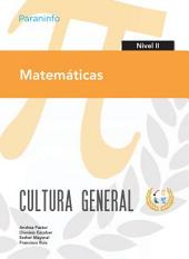 CULTURA GENERAL 2 MATEMATICAS P