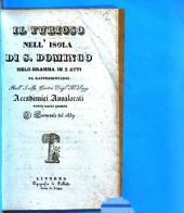 Il Furioso nell'isola di S. Domingo. Melodramma in 2 atti. (Musica di Gaetano Donizetti.)