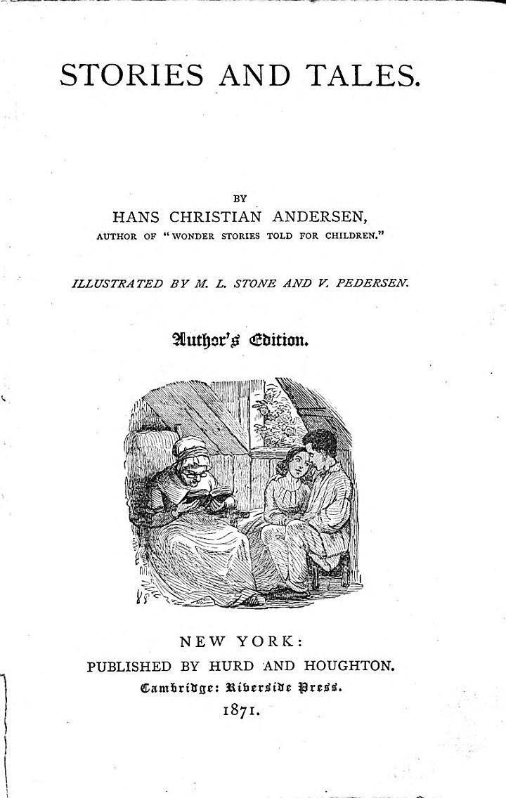 (Hans Christian Andersen's Writings, in a Uniform Series