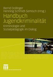 Handbuch Jugendkriminalität: Kriminologie und Sozialpädagogik im Dialog