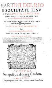 Pharus sacrae sapientiae