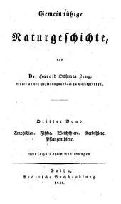 Gemeinnützige Naturgeschichte: Band 3
