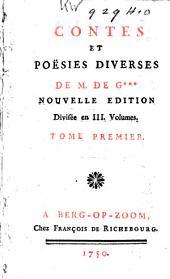 Contes et poësies diverses: Volume1