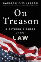 On Treason PDF