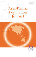 Asia Pacific Population Journal  Vol 26  No 1  March 2011 PDF