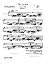 Tennyson's Enoch Arden: ein Melodram für Pianoforte