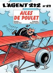 L'Agent 212 – tome 21 - AILES DE POULET