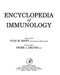 Encyclopedia of Immunology PDF