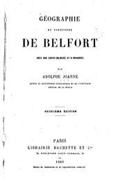 Géographie du Territoire de Belfort: avec une carte coloriée et 6 gravures