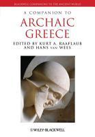 A Companion to Archaic Greece PDF