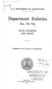 Department bulletin: Issues 701-725