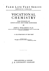 Vocational Chemistry for Students of Agriculture and Home Economics