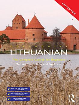 Colloquial Lithuanian  eBook And MP3 Pack  PDF