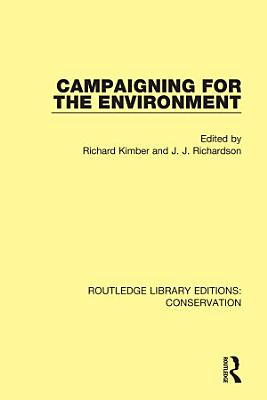 Campaigning for the Environment