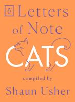 Letters of Note  Cats PDF