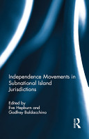 Independence Movements in Subnational Island Jurisdictions PDF