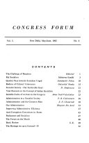 Congress Forum PDF