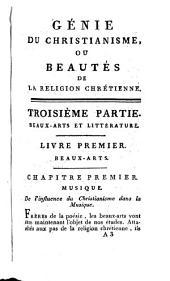 Génie du christianisme, ou, Beautés de la religion chrétienne, 3