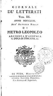 Giornale de' letterati: Volumi 3-4