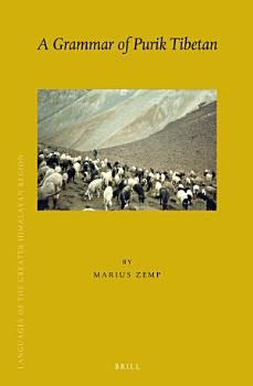 A Grammar of Purik Tibetan PDF