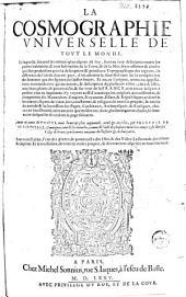 La cosmographie universelle de tout le monde: Volume1