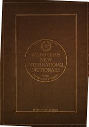 New International Dictionary Book PDF