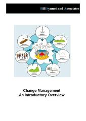 Change Management An Introductory Overview