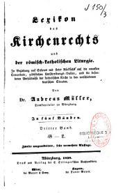 Lexikon des Kirchenrechts und der römisch-katholischen Liturgie