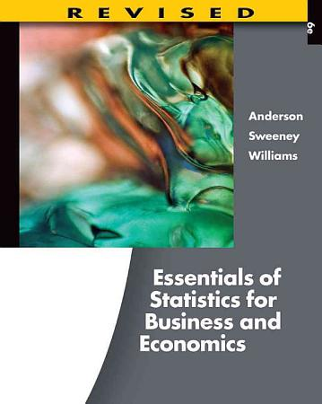 Essentials of Statistics for Business and Economics  Revised PDF
