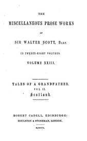 The miscellaneous prose works of Sir Walter Scott, bart: in twenty-eight volumes, Volume 23