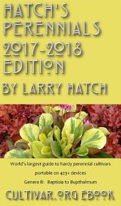 Hatch's Perennials 2016-2017: Genera B