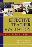 Effective Teacher Evaluation PDF