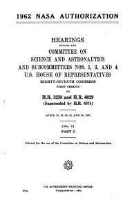 1962 NASA Authorization PDF