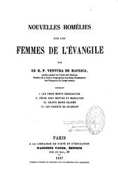 Nouvelles homélies sur les femmes de l'Évangile