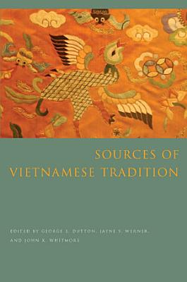 Sources of Vietnamese Tradition PDF