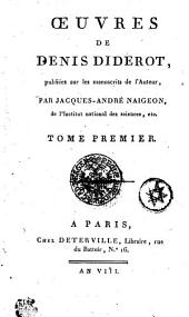 OEUVRES.: TOME PREMIER, Volume1
