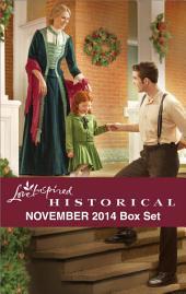 Love Inspired Historical November 2014 Box Set: Her Holiday Family\The Bride Ship\A Pony Express Christmas\Rocky Mountain Dreams