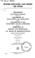 Weather Forecasting  Past  Present  and Future PDF
