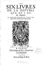 Les six Livres de la Republique