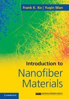 Introduction to Nanofiber Materials PDF