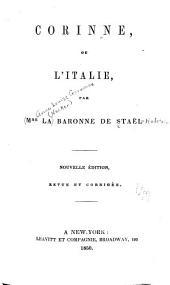Corinne ou l'Italie: Volume2