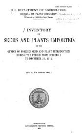 Plant Inventory: Issues 41-50