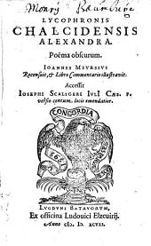 Alexandra: poema obscurum