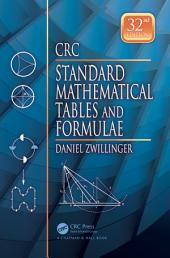 CRC Standard Mathematical Tables and Formulae, 32nd Edition: Edition 32