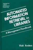 Automated Information Retrieval in Libraries PDF