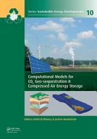 Computational Models for CO2 Geo sequestration   Compressed Air Energy Storage PDF