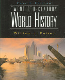 Twentieth century World History Book