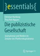 Die publizistische Gesellschaft PDF