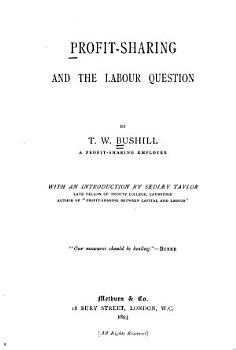 Profit sharing and the Labour Question PDF