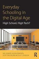 Everyday Schooling in the Digital Age PDF